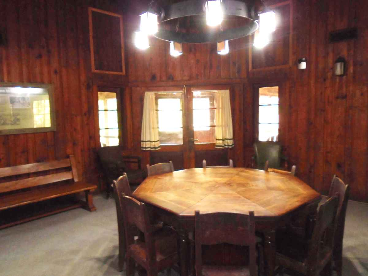 Another view of the living area in Cabin 12.