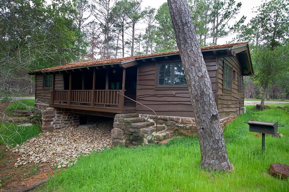 Bastrop State Park Cabin 6 Texas Parks Amp Wildlife