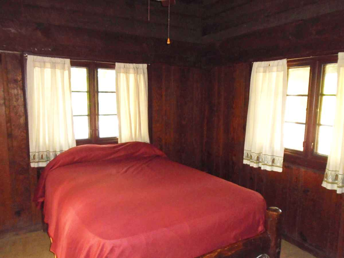 Both Bedrooms of Cabin 6 have one double bed and there is a single bed in the living area.