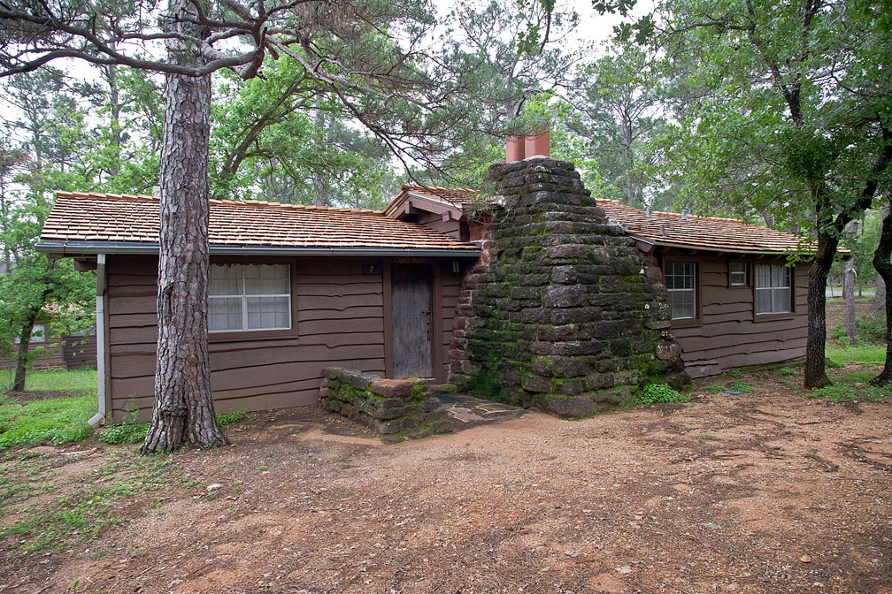 Bastrop state park cabin 7 james bowie texas parks for Lost texas fishing license