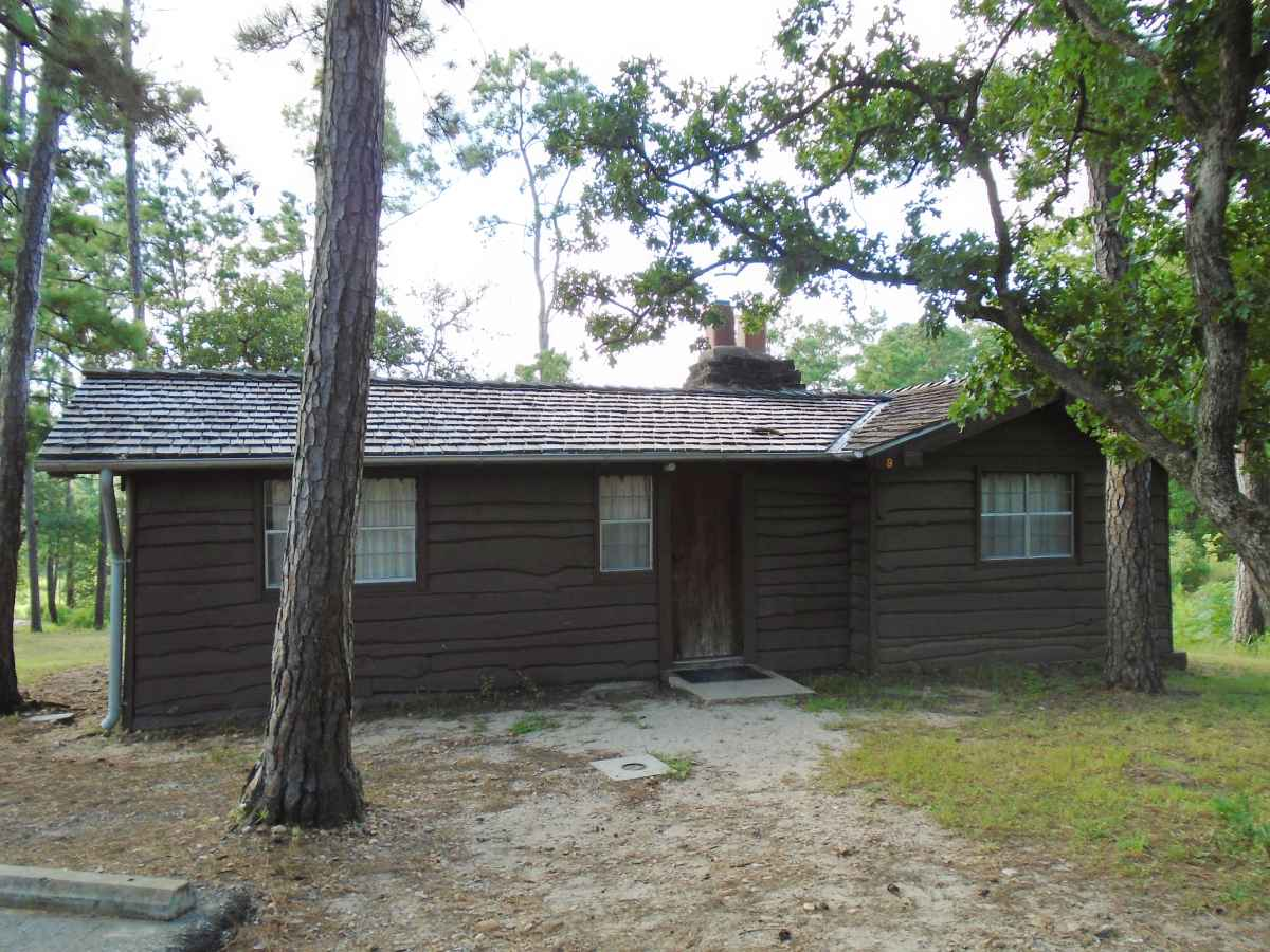 The front of Cabin 9.