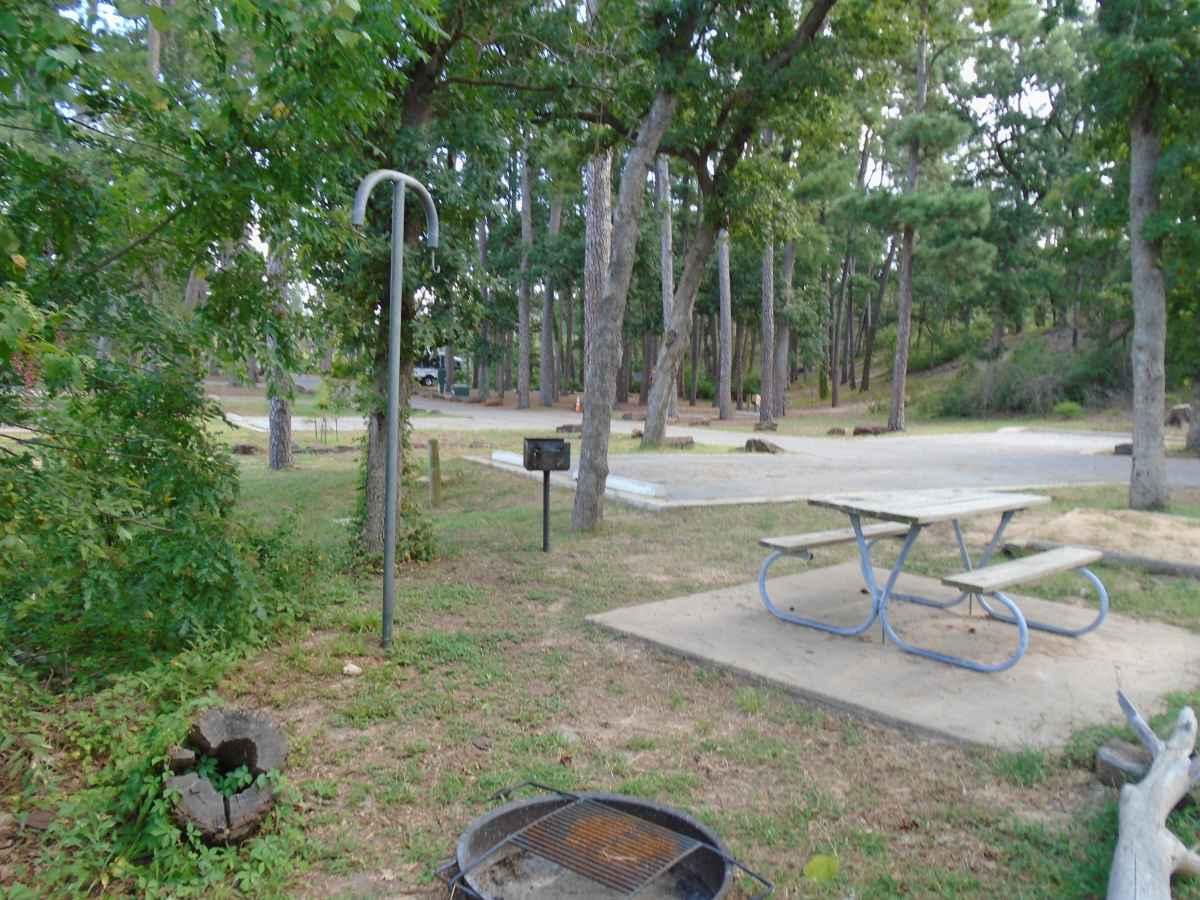 Campsite 68 in the Copperas Creek Camp area.
