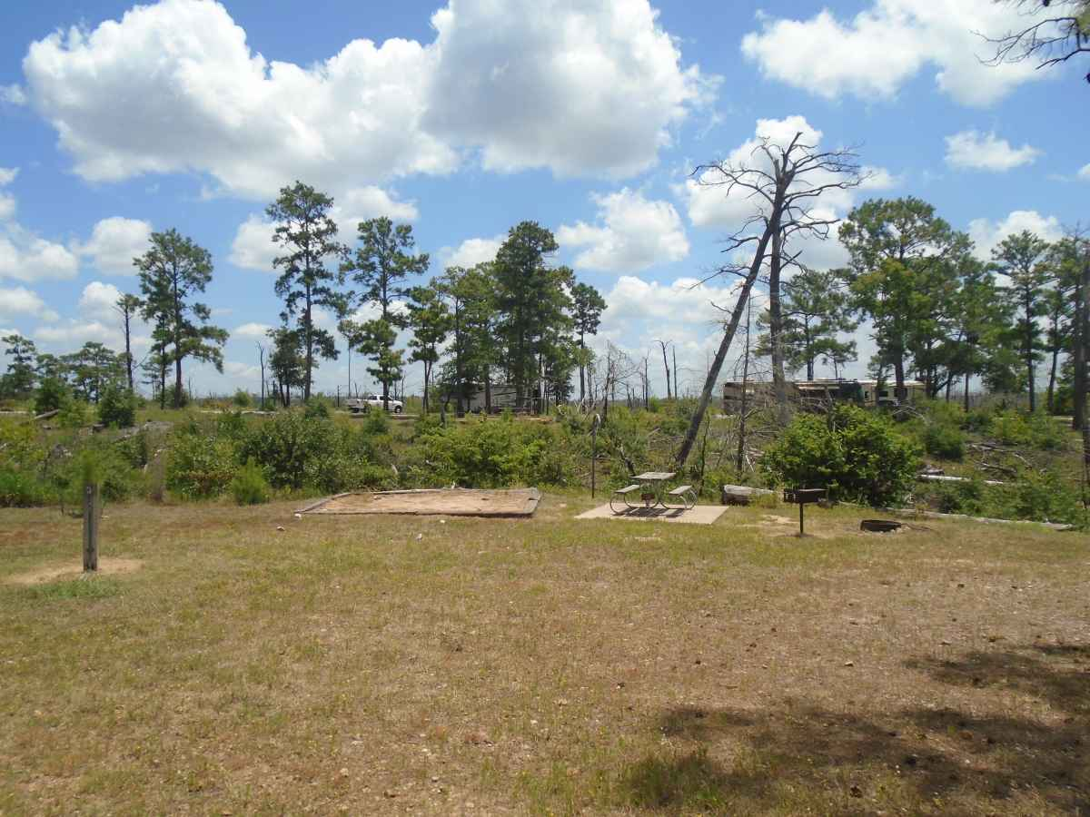Campsite 30 in the Deer Run camping area.