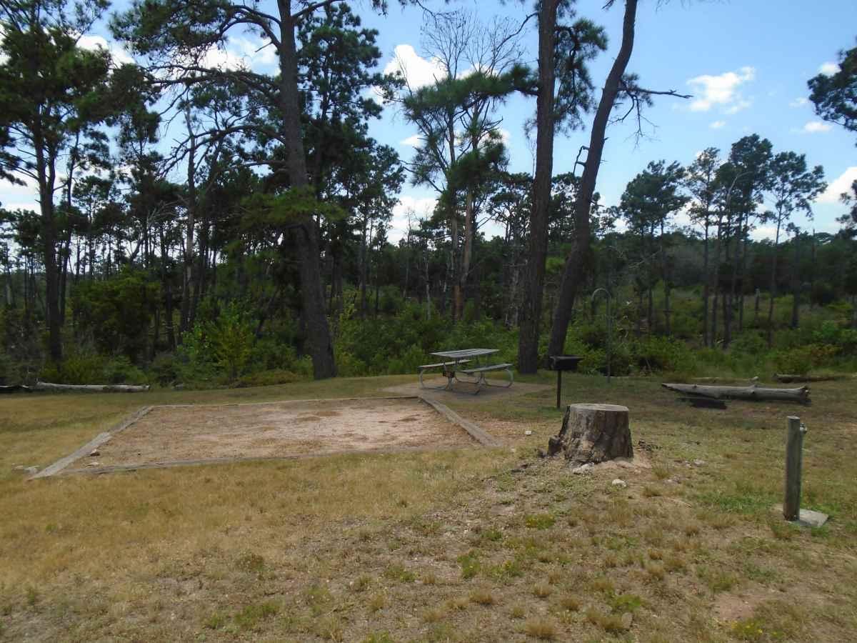 Campsite 36 in the Deer Run camping area.