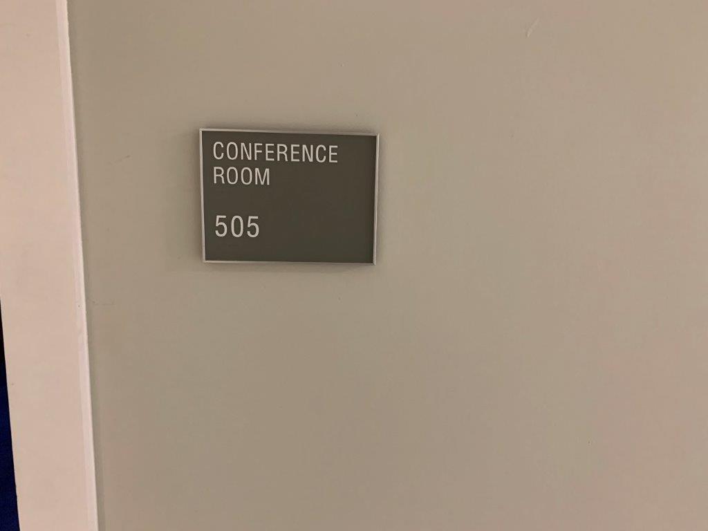 Door to Conference Room.
