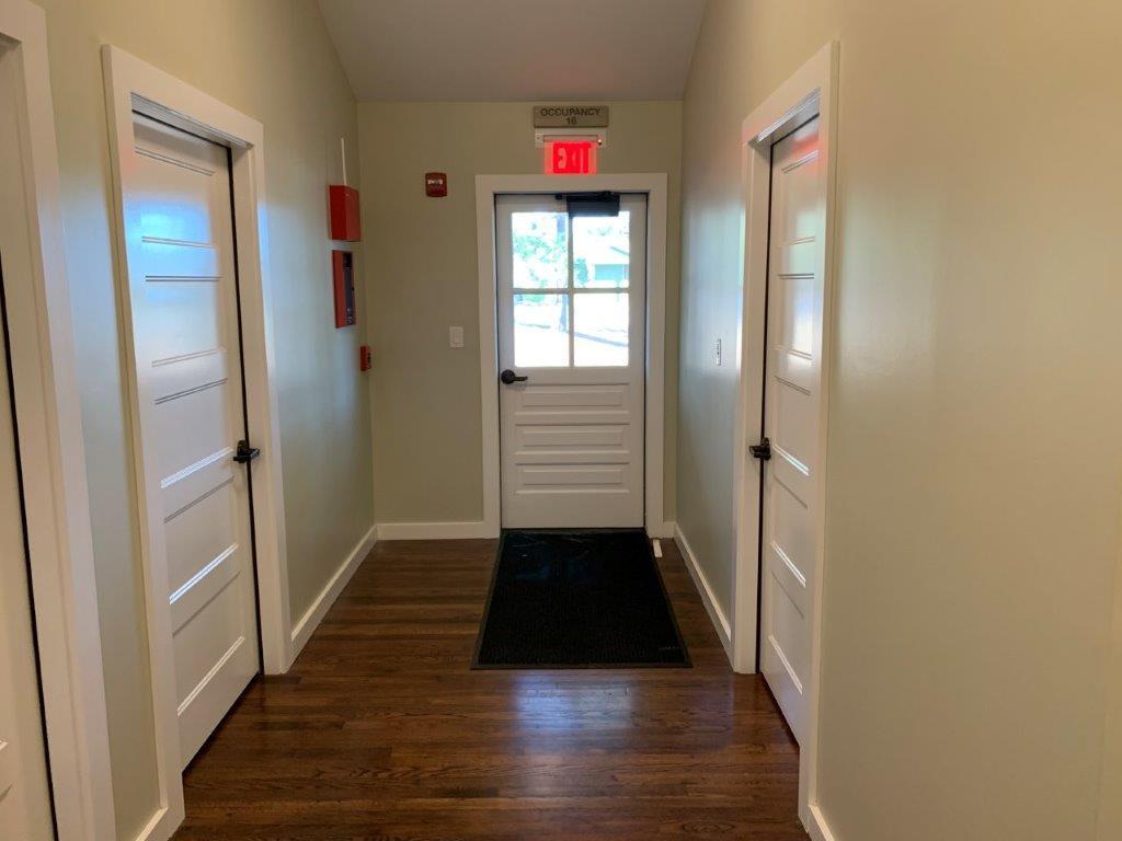 Hallway of a dorm