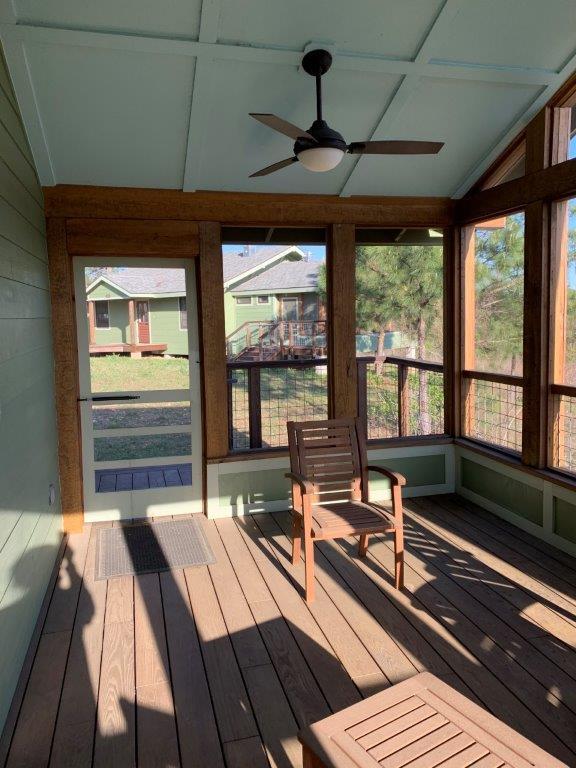 Dorm 2 screened porch