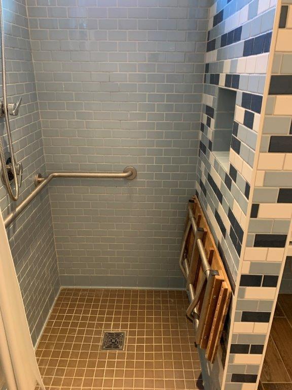 Dorm shower
