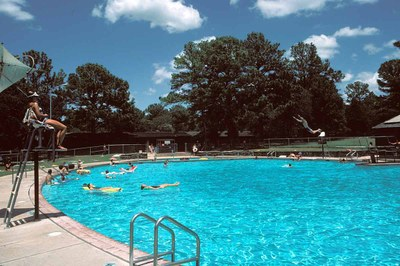 Bastrop State Park Swimming Pool (link to a larger image)