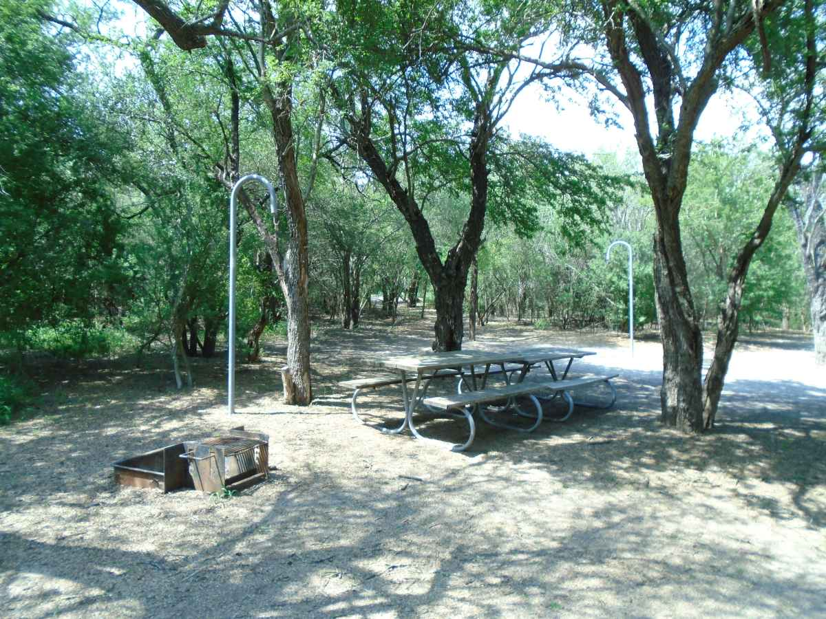 Another view of the Walk-in Campsite Area.