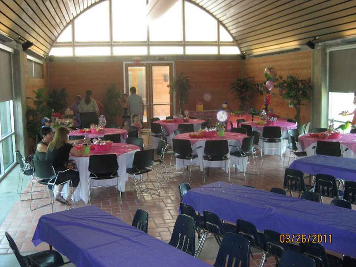 A reception being held at the Conference Room.
