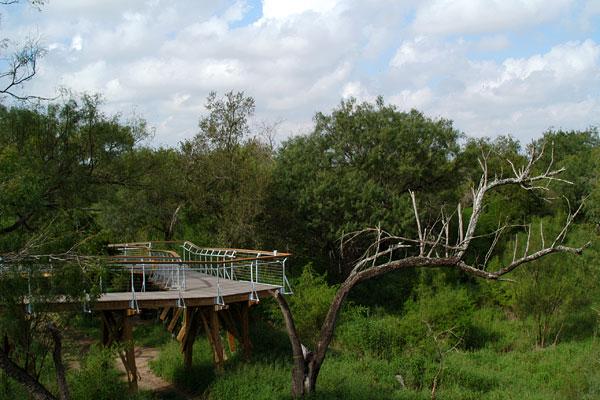 Rio Grande Nature Center History