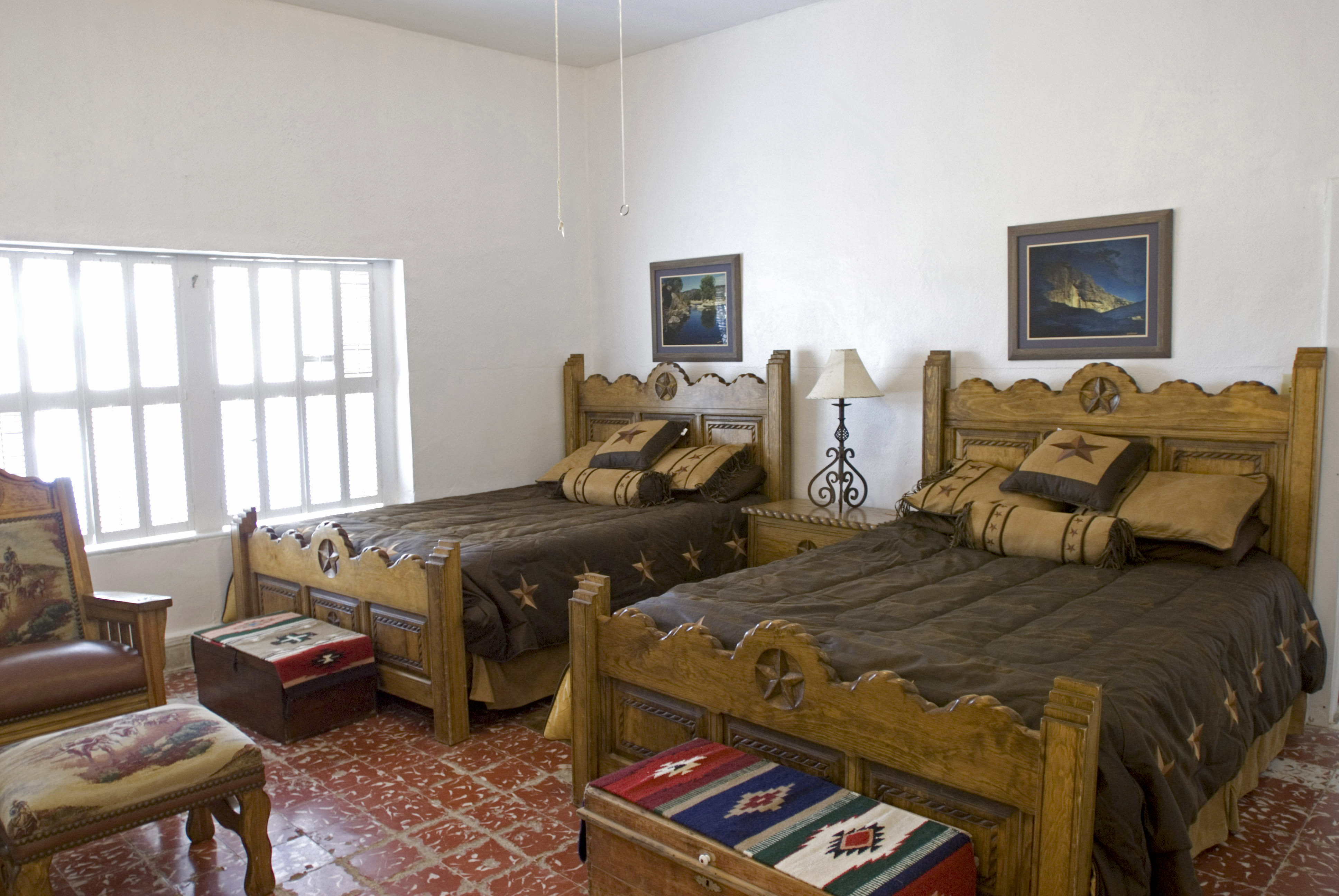 Big Bend Ranch State Park Double Rooms Historic Sauceda Ranch House Big House — Texas Parks