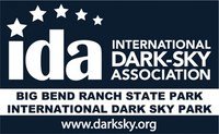 black & white dark sky park logo