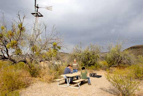 Big Bend Ranch State Park Papalote Rancho Viejo Texas