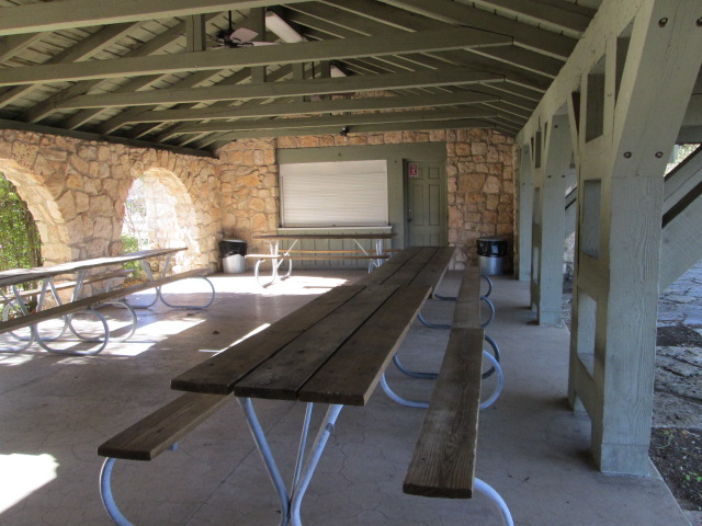 Blanco State Park Pavilion With Kitchen Texas Parks