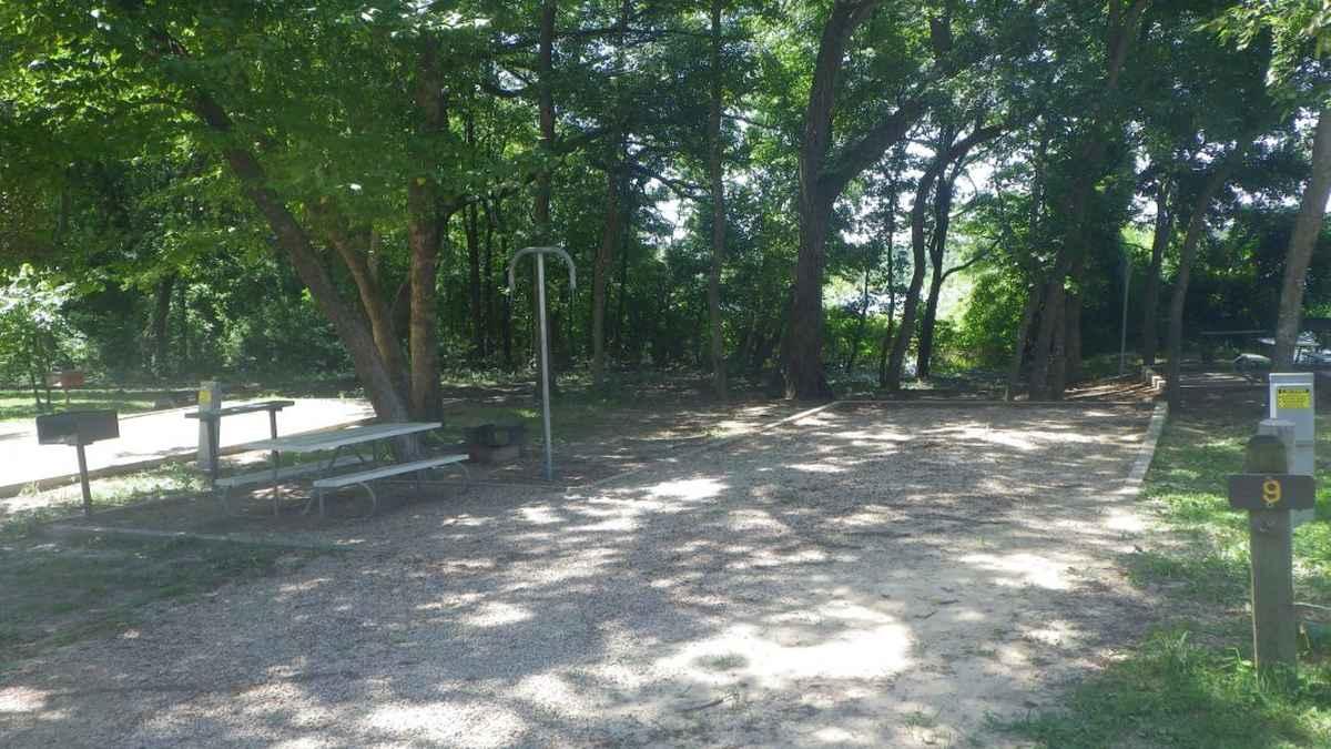 Bonham State Park Campsites with Electricity — Texas Parks ...