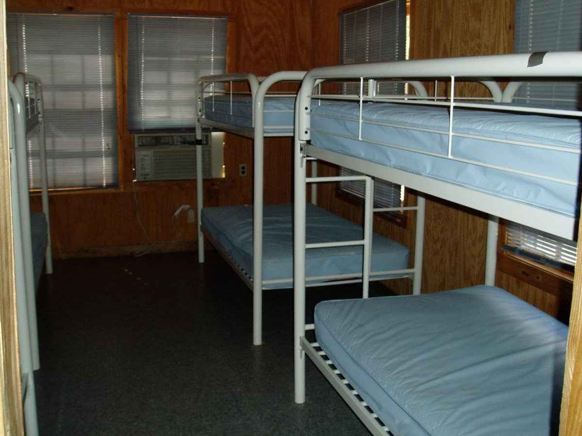 Another bedroom in one of the barracks.