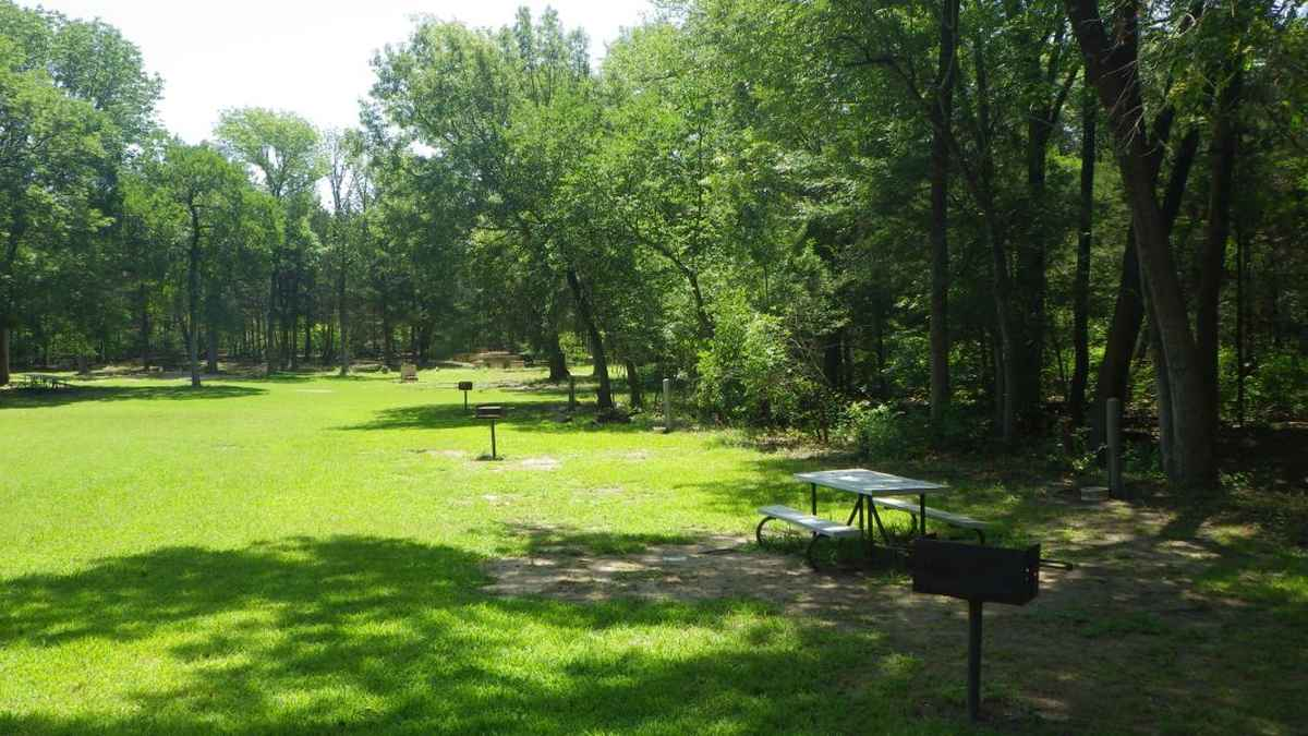 Group Camping Area.