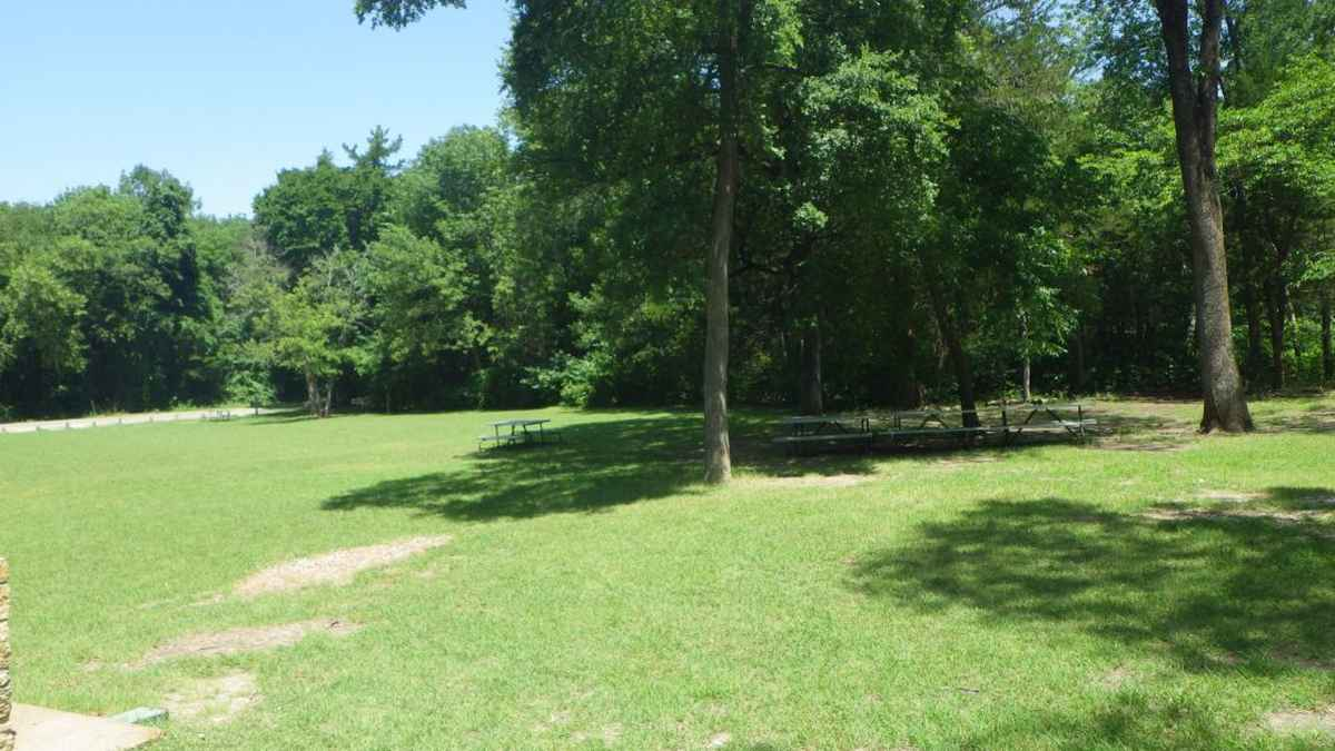 The Group Camping Area.