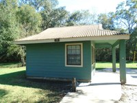 outside view of accessible cabin