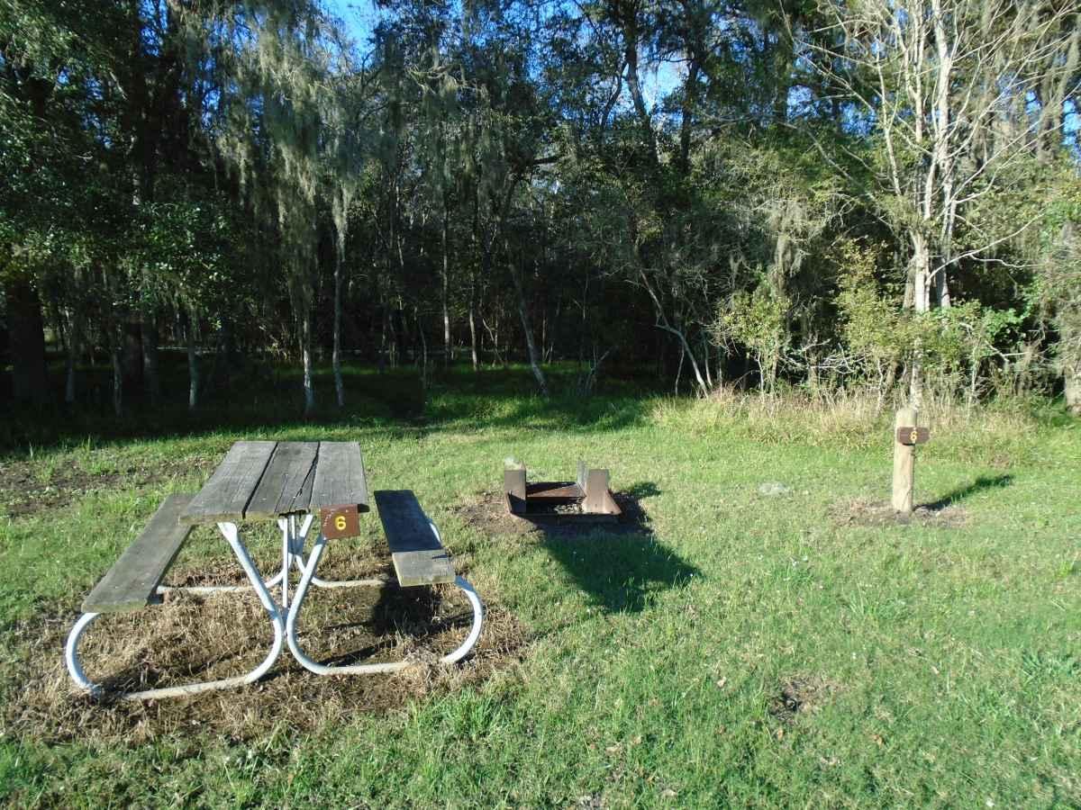 Premium Primitive Campsite #6.