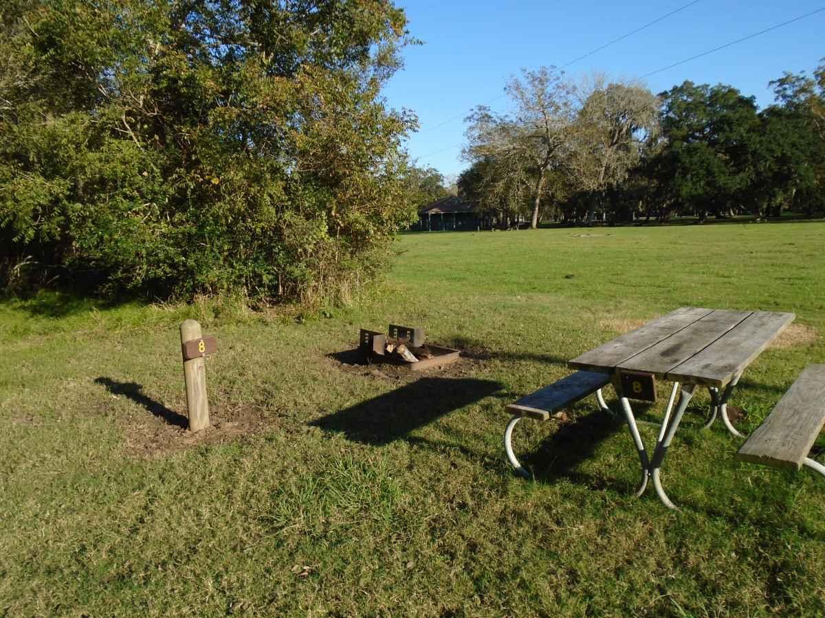 Premium Primitive Campsite #8.