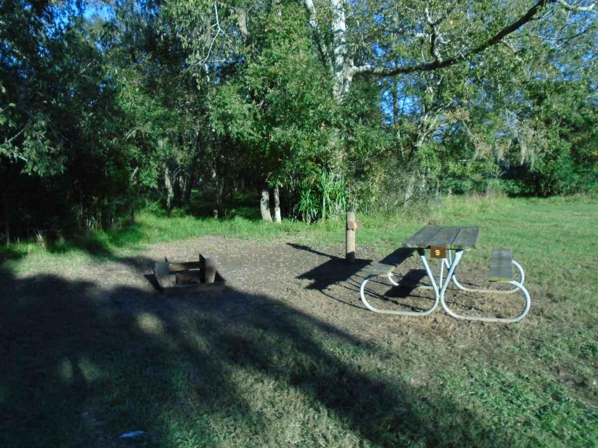 Premium Primitive Campsite #9.