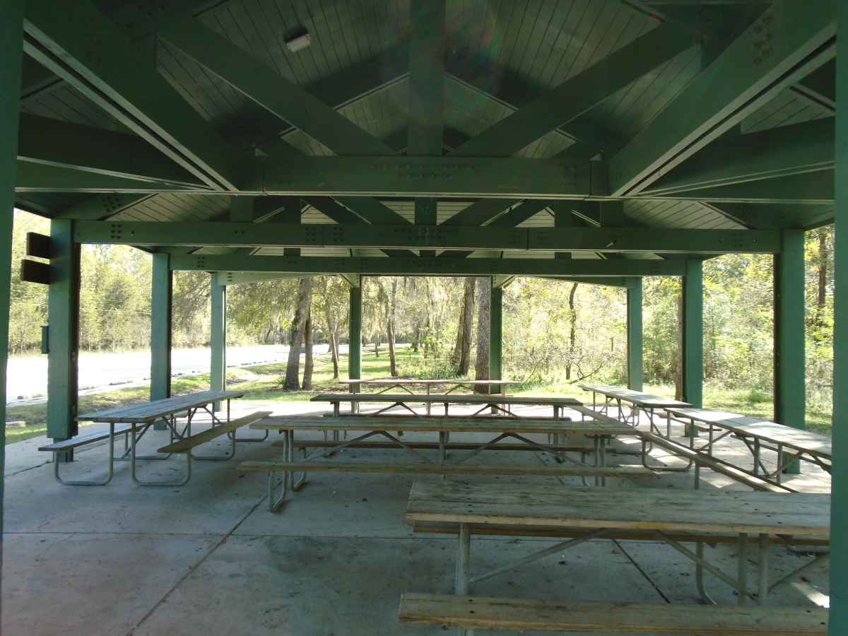 Pavilion #2 in the Elm Lake area.