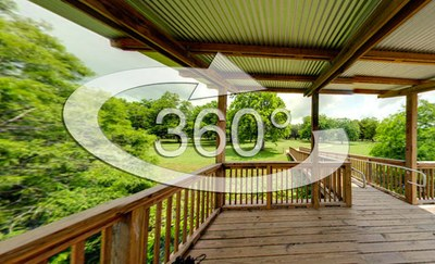 link to a 360-degree view of a wildlife viewing platform.