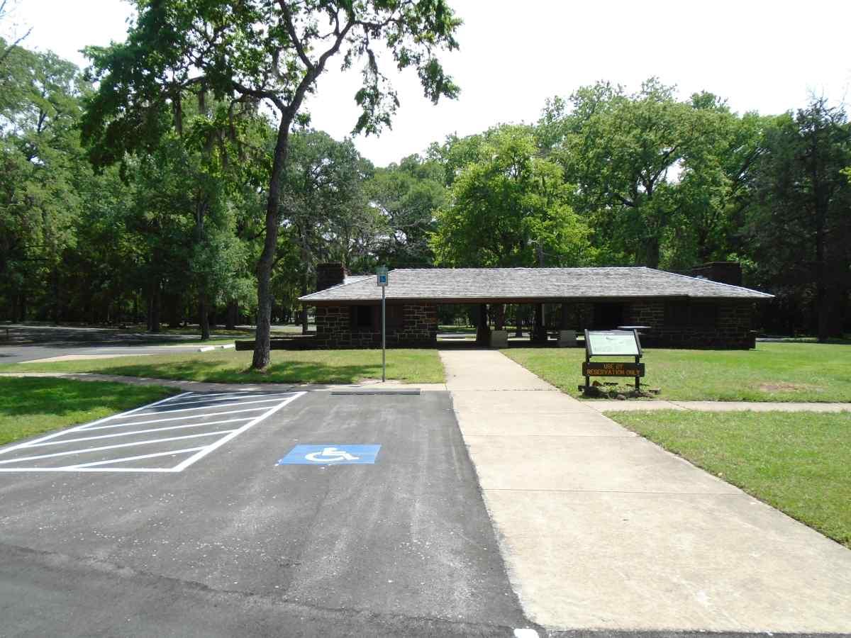 Buescher State Park Group Picnic Pavilion Texas Parks