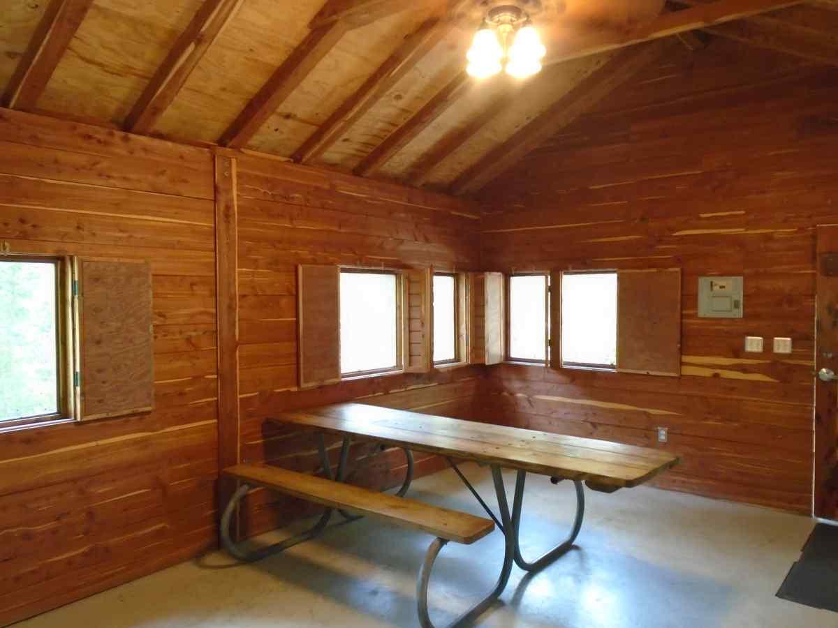 Inside Premium Screened Shelter 1.