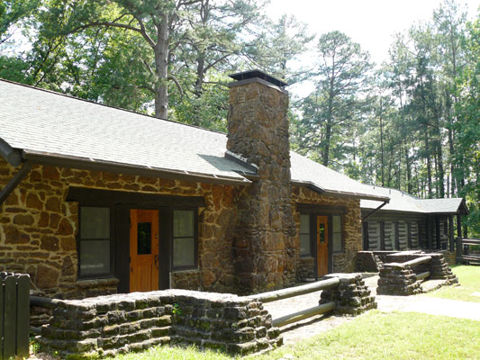 Caddo Lake State Park Group Recreation Hall Texas Parks