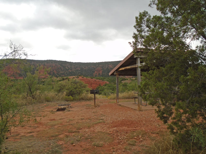 Caprock Canyons State Park Amp Trailway Campsites Walk In