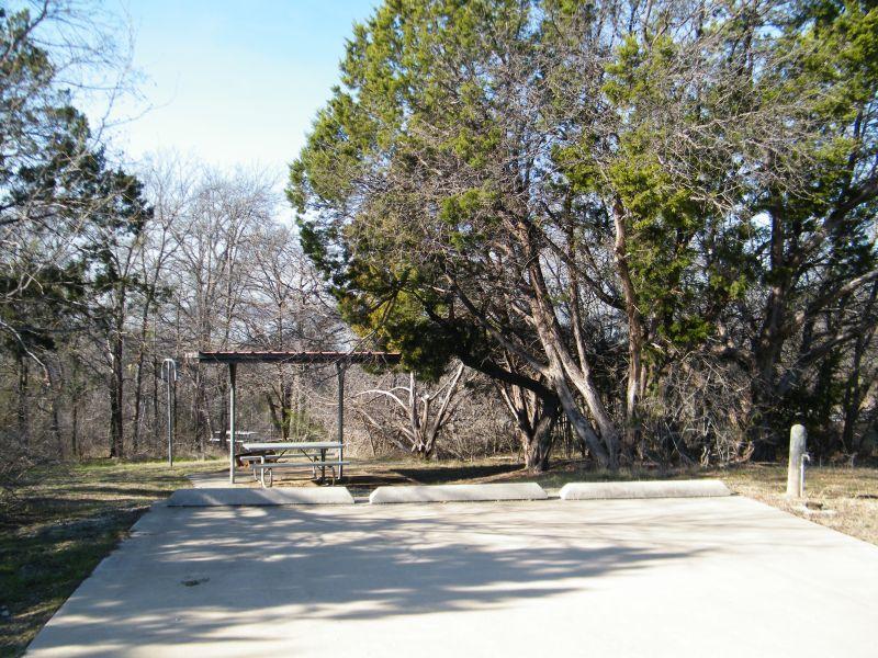 Cedar Hill State Park Full Hookup Campsites Texas Parks