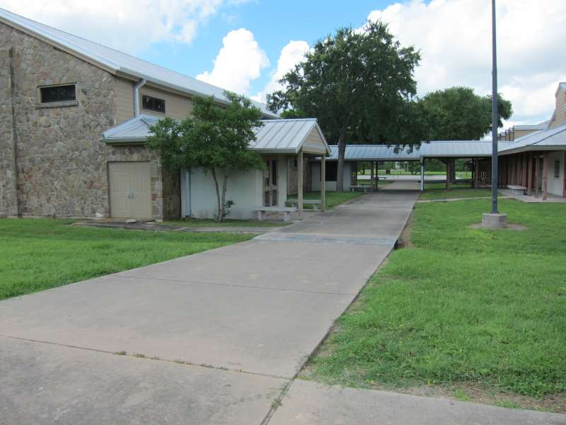 Gymnasium and Interpretive Center Complex.