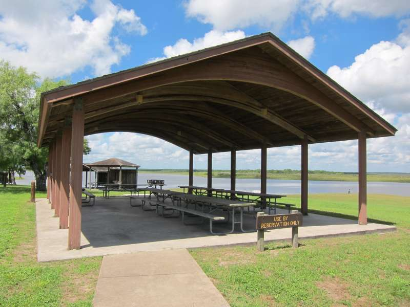 The 75-person capacity pavilion.