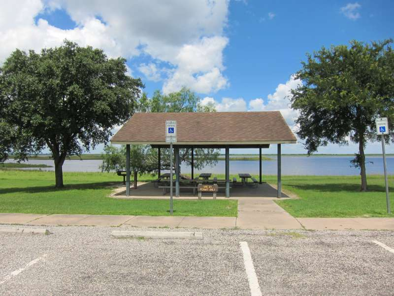 The Group Pavilion 1 is in the Shelter Area, between Shelters #17 and #18.