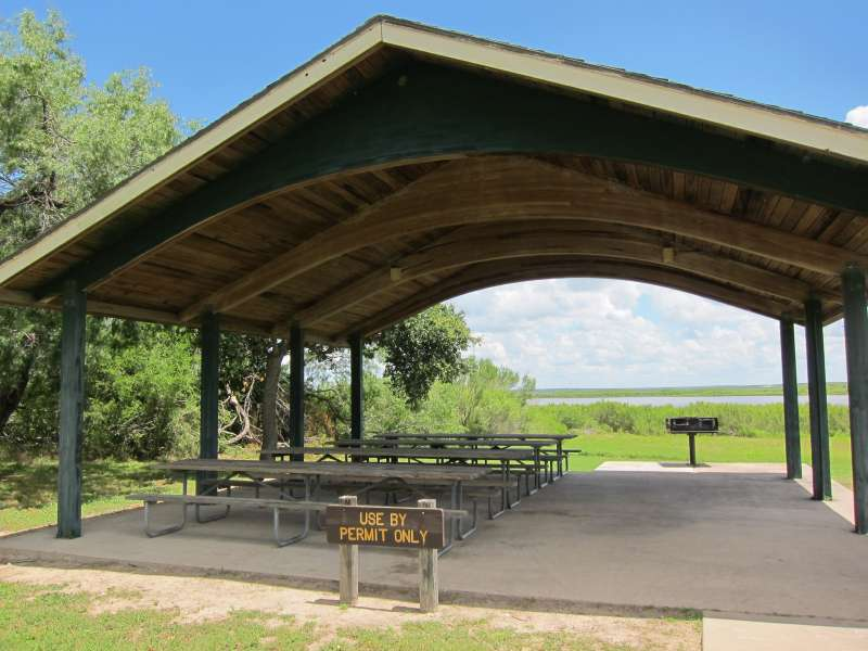 The Group Pavilion 2 is in the Shelter Area, between Shelters #12 and #13.