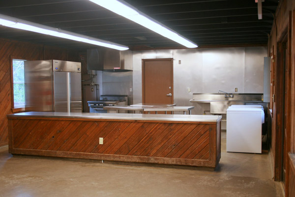 Dining Hall Kitchen