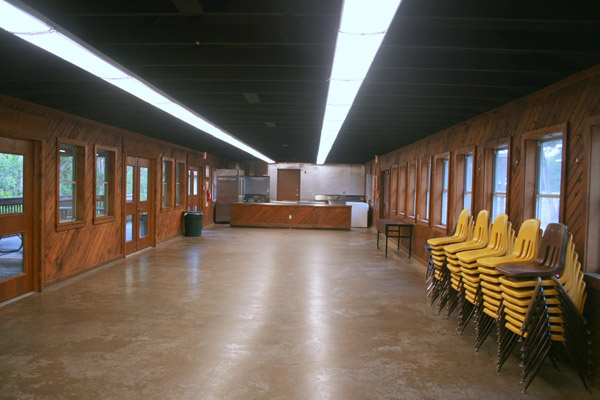 Dining Hall meeting and dining area