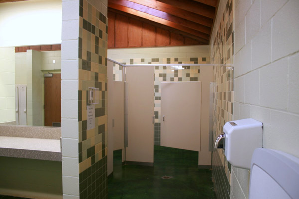 Group Barracks toilets