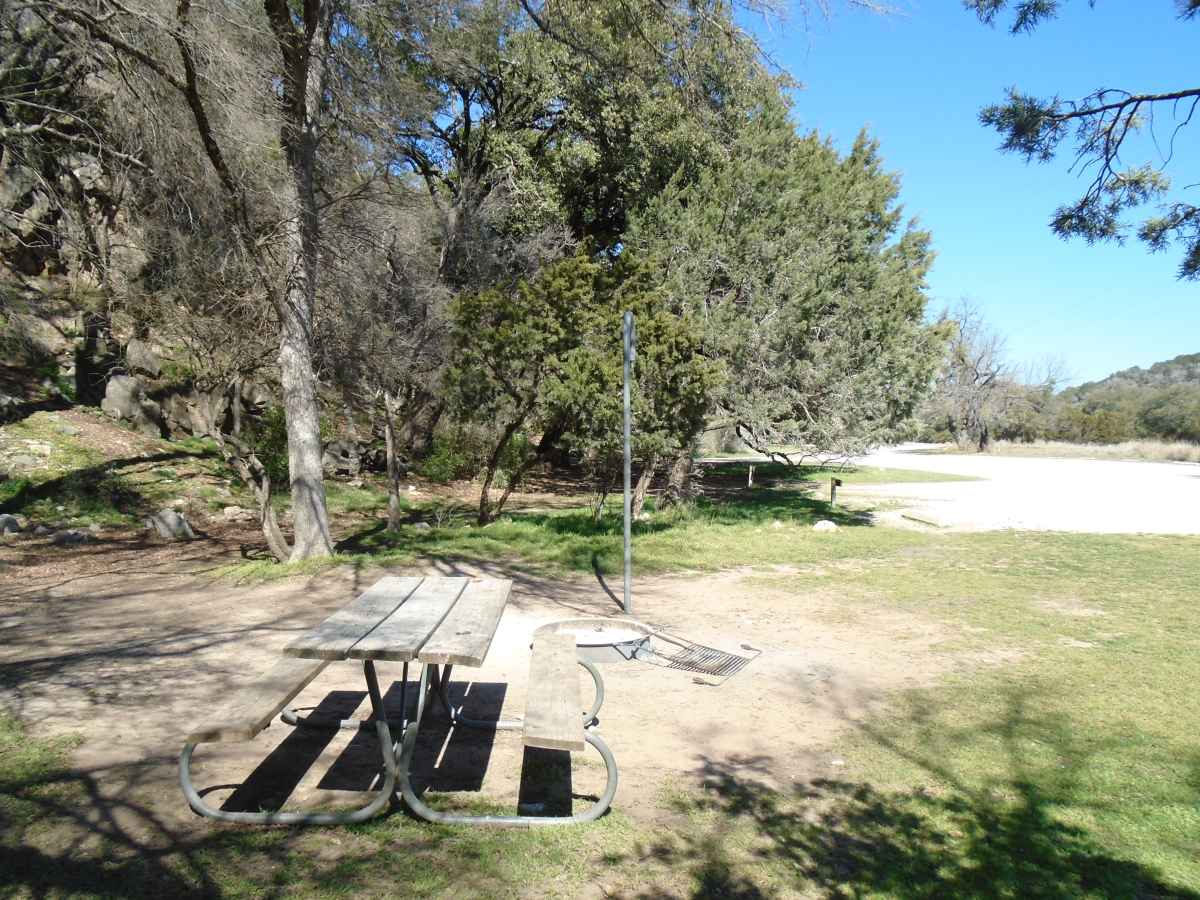 Colorado Bend State Park Campsites With Water Drive Up