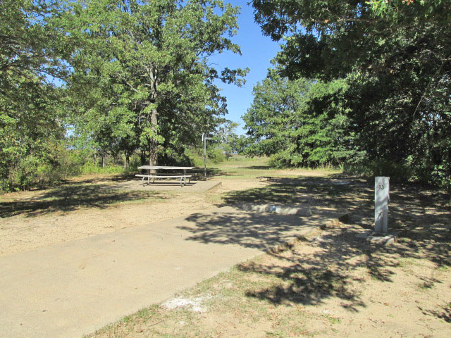 Site #13, Bright Star Camping Area