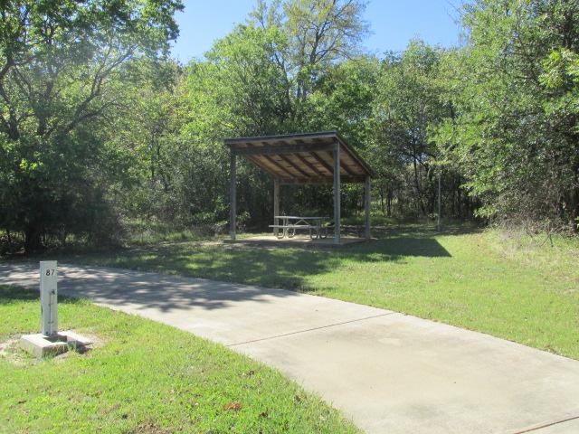 Site #87, Deer Haven Camping Area