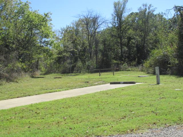 Site #75, Deer Haven Camping Area