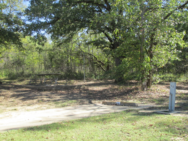 Site #70, Deer Haven Camping Are