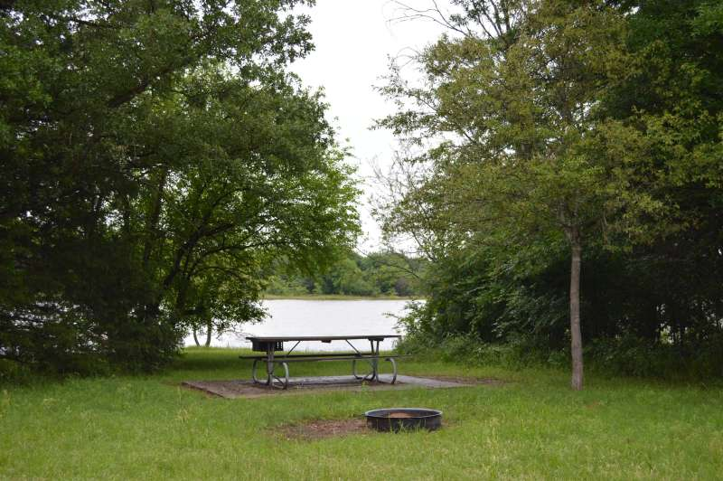 Cooper Lake State Park Group Camping Area (Doctors Creek ...