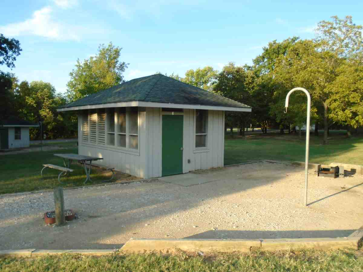 Cooper Lake State Park Screened Shelters (South Sulphur ...