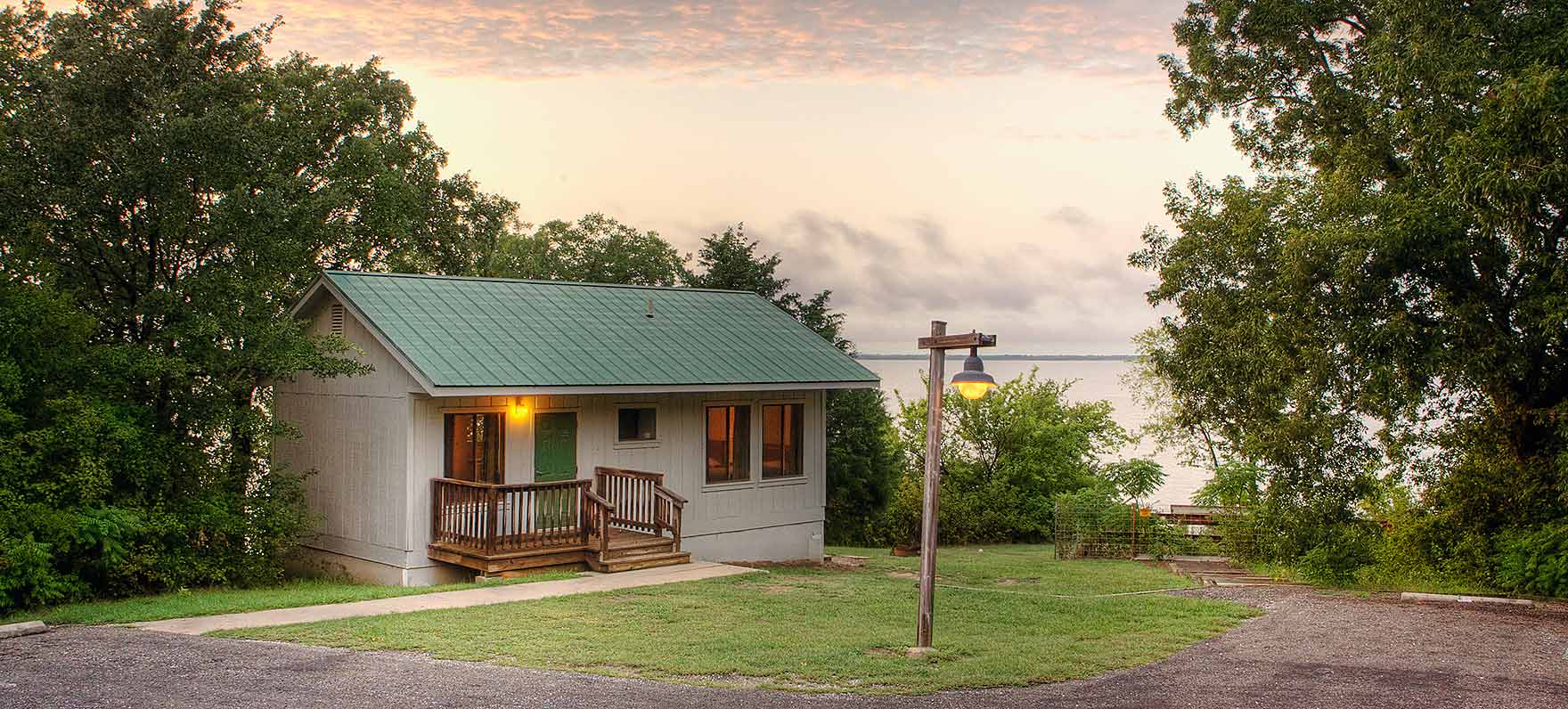 Cooper lake state park texas parks wildlife department for Fishing cabins for rent in texas